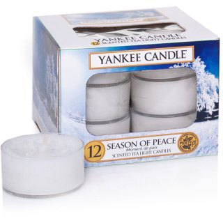 Yankee Candle Teelichter Season of Peace - 12er Pack