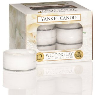 Yankee Candle Teelichter Wedding Day - 12er Pack