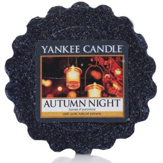 Yankee Candle Wax Melts - Autumn Night - Duftwachs