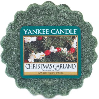 Yankee Candle Wax Melts - Christmas Garland - Duftwachs