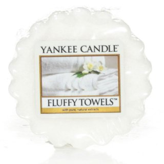 Yankee Candle Wax Melts - Fluffy Towels - Duftwachs