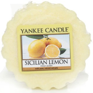 Yankee Candle Wax Melts - Sicilian Lemon - Duftwachs