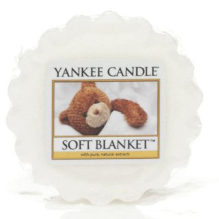 Yankee Candle Wax Melts - Soft Blanket - Duftwachs
