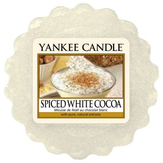 Yankee Candle Wax Melts - Spiced White Cocoa - Duftwachs