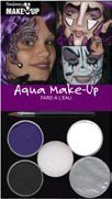 Zauberhexe & Spinne - Aqua-Make-Up - Schminkset