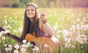 Feiern wie ein Hippie – Flower Power Fete mit 60er Jahre Partydeko