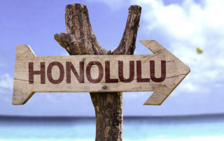 Beachparty Erwachsene Honolulu