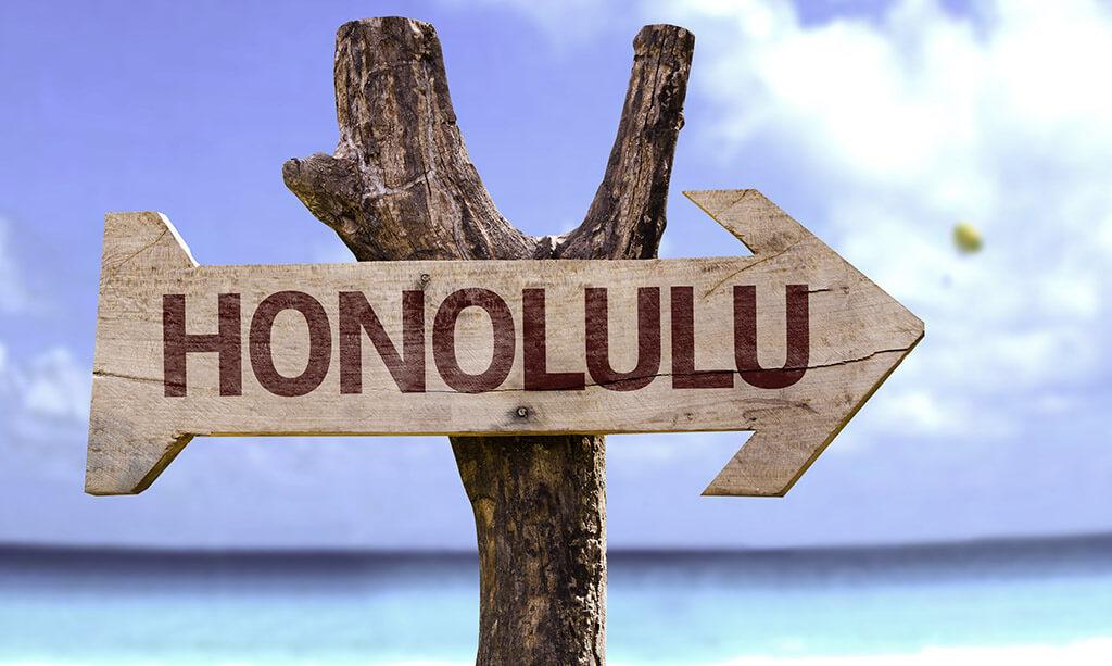 Hawaii am Gartenteich