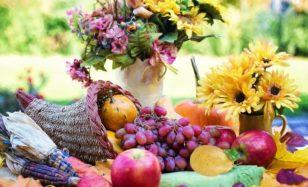 HERBSTPARTY: Die Früchte des Sommers bitten zu Tisch!