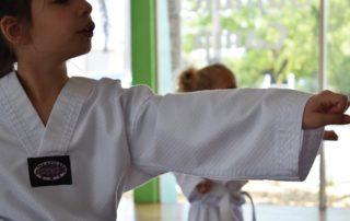 Kampfsport Party Mädchen