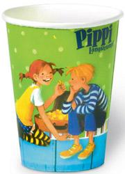 skandinavische kinderparty mit pippi langstrumpf & michel aus, Einladung
