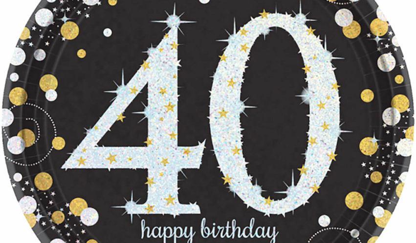 40 ist super! Party zum runden Geburtstag