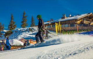 Apres Ski mit Eis und Schnee