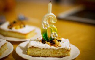 6. Geburtstag Kuchen