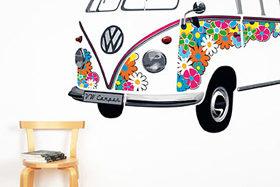 Rollende Hippie Ikone: VW T1 als Deko-Objekt