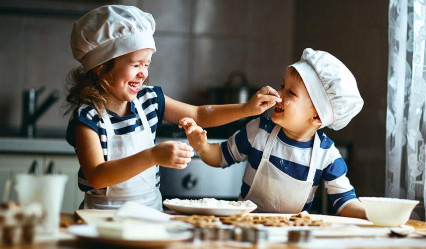Das perfekte Dinner der Kids