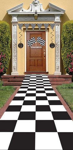 Teppich Schachbrettmuster