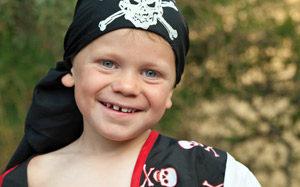 Zum Piratengeburtstag auf ins wilde Piratenabenteuer