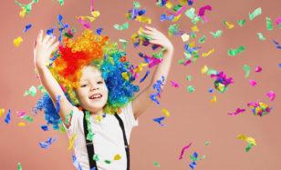 Kinderspiele an Fasching: So gelingt die Party zu Hause