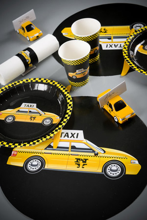 Gelb Gelb Gelb Sind Alle Ny Taxis Fixe Fete Alles