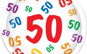 Deine 50. Geburtstag Mottoparty – auf die Feier  fertig  los!
