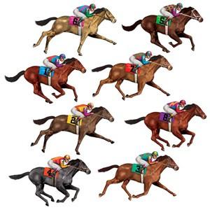pferderennen-deko