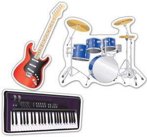 rock-band-instrumente