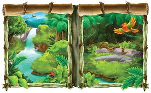 Auf der Jagd mit Tarzans Liane