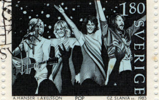 Abba-Party-Briefmarke