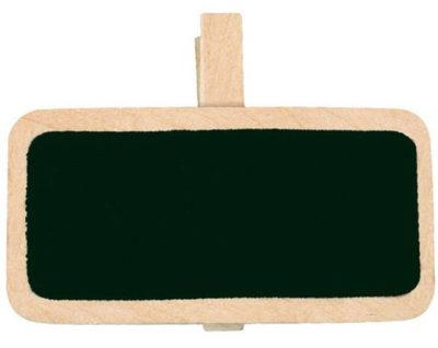 Mini Schultafel-Klammer