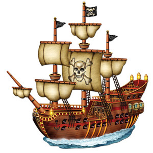 piratenschiff-deko