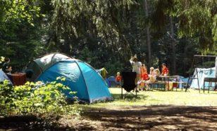 Mit der blinden Maus auf dem Waldsofa – Camping mit Kids