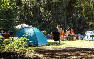 Campen mit Kindern