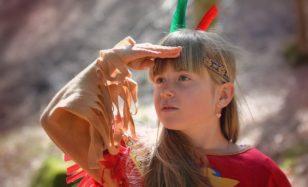 Indianerprüfung für junge Wilde – Indianerfest mit Test