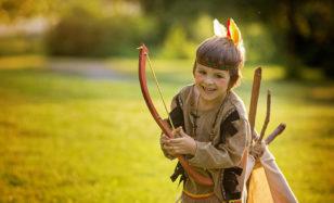 Abenteuer pur: Indianerparty für die ganz Kleinen