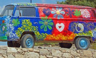 Kultige Deko für jung gebliebene Hippies