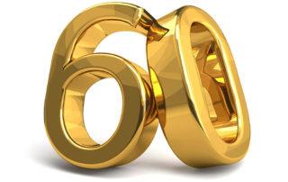 runder Geburtstag - 60