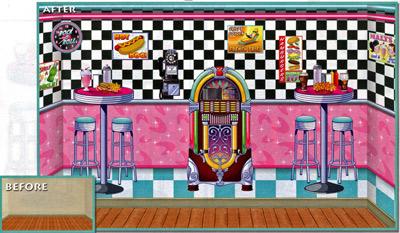 rockabilly in der milchbar der 50er jahre fixe fete alles ber partys. Black Bedroom Furniture Sets. Home Design Ideas