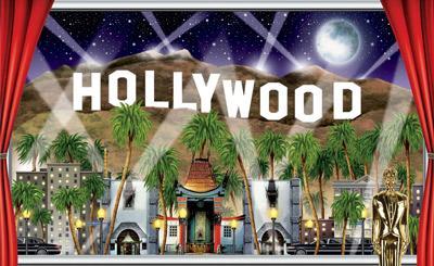 Hollywood Wanddeko