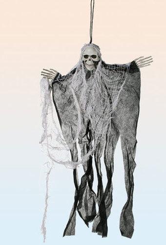 Skelett mit Umhang
