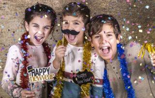 Silvesterparty mit Kindern