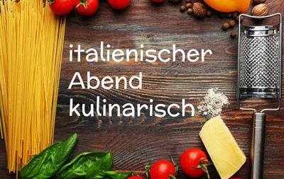 Pasta-Variationen in lauten Altstadtgassen