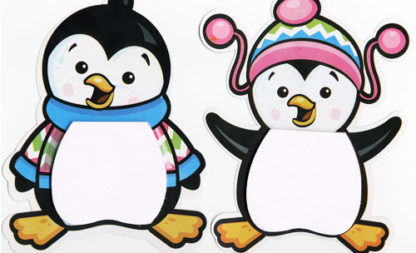 Fischige Pinguin-Party