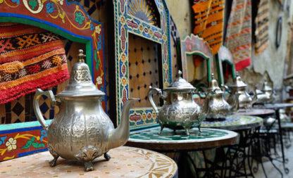 Arabischer Tee beim Ölscheich