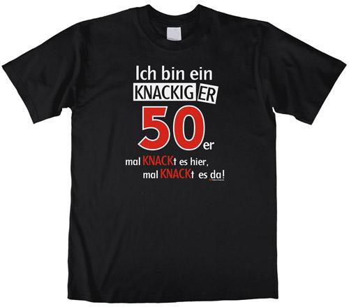 50. Geburtstag Tshirt