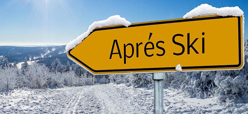 Apres Ski mit Waldarbeiter-Getränken