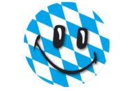 Rautenmuster Smiley