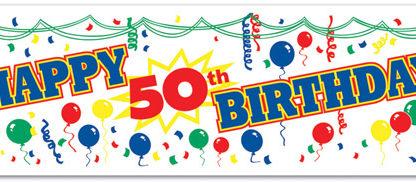 5 gute Gründe  den 50. Geburtstag zu feiern
