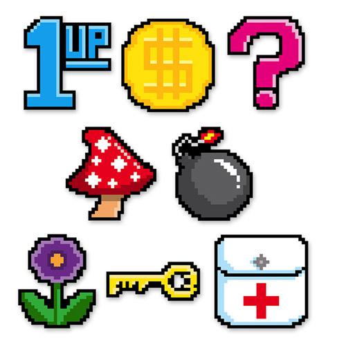 tischdeko-8-bit-gamer