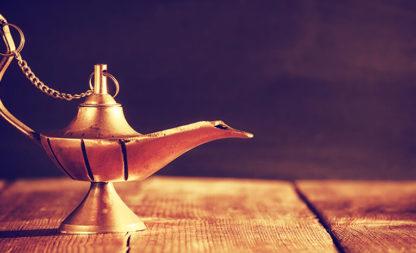 40 Räuber in Aladins Wunderlampe